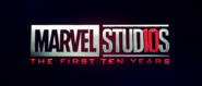 Marvel Studios 10 Years Logo