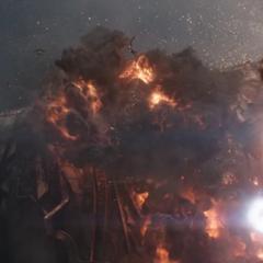 Danvers destruye el Santuario II.