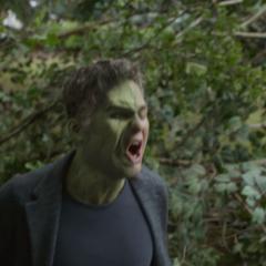 Hulk se niega a ayudar en la batalla.
