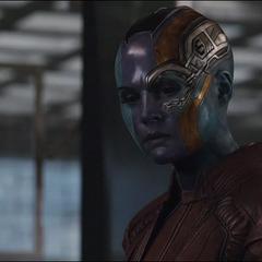 Nebula habla sobre Vormir y la Gema del Alma.