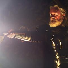Odín destierra a Thor.