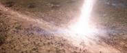 Thor entering Wakanda