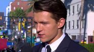 Tom Holland Swings Into Action at the Spider-Man Homecoming Red Carpet World Premiere