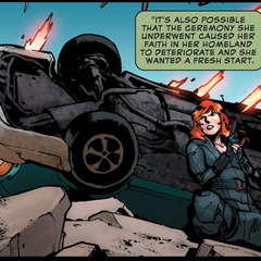 Romanoff comienza a forjar una nueva reputación en S.H.I.E.L.D.