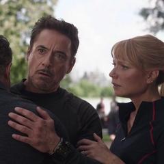 Stark se reencuentra con Banner.