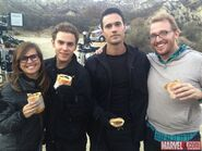Fitz and Ward Behind the Scenes The Hub
