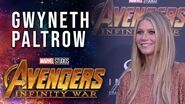 Gwyneth Paltrow Live at the Avengers Infinity War Premiere