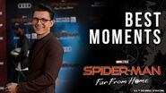 Spider-Man Far From Home Red Carpet Best Moments!
