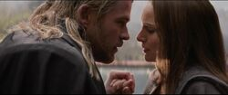 Thor Jane love Dark World