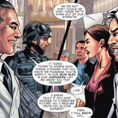 Pietro y Wanda se reúnen con los científicos de HYDRA.