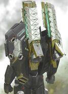 Avengers Endgame concept art War Machine 2