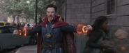 Doctor Strange Defending New York