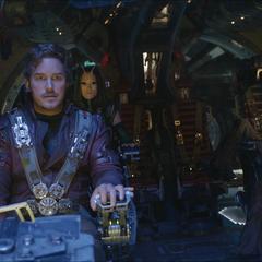 Quill dirige a los Guardianes a las coordenadas de la Estadista.