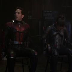 Pym, Hope y Lang son capturados.