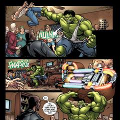 Hulk lanza a Peterson.