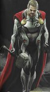 Thor Quantum Realm suit concept art
