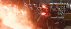 Wanda contiene la explosión