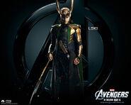 Loki Avengers Poster 2012