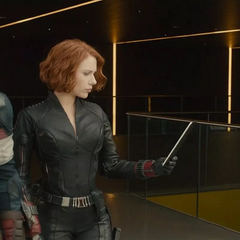 Romanoff y Rogers a punto de entrenar a los Nuevos Vengadores.