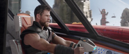 Thor Piloting the Commodore
