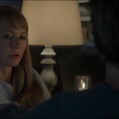 Potts teme perder a Stark en la posible misión.