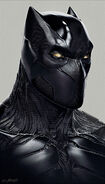 CACW Concept Art Black Panther 6