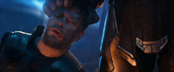 Thor Placed In Thanos' Hand