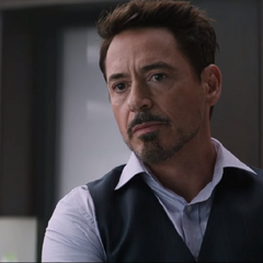 Stark discute con Rogers sobre los acuerdos.