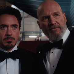 Stark descubre la traición de Stane.
