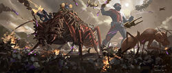 Battle of Earth concept art 24