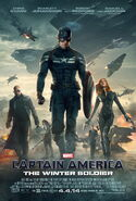 Captain America The Winter Soldier main poster