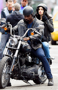 Jessica Jones Luke Cage set photo 2