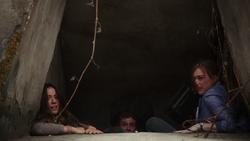 Scared trio