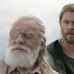 Odín es encontrado por Thor y Loki.