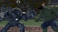 Hulk vs Hulkbuster video game
