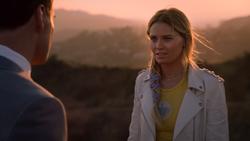 Jonah and Karolina Dean are talking