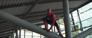 Spider-Man (Leipzig Airport)
