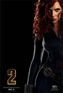 BlackWidow IronMan2 poster