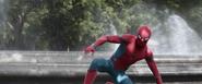 Spider-Man aiding Iron Man (AIW)