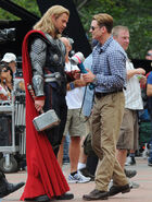 The Avengers filming 9