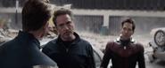 Tony Stark Time Heist