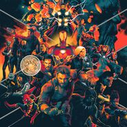 Avengers Infinity War Soundtrack Vinyl 1