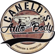 Canelo's Auto and Body Logo
