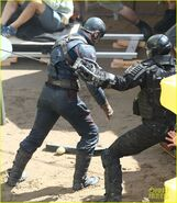 Civil War set photo 17