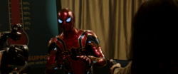 Iron Spider Answering Questions