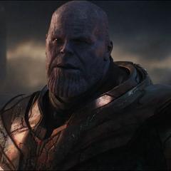 Thanos amenaza con castigar a los humanos.