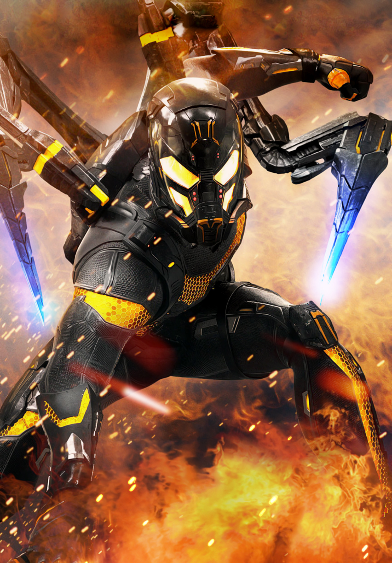 yellowjacket marvel cinematic universe wiki fandom powered by wikia