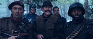 Cap and Howling Commandos