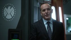 Coulson tells Sousa about the future