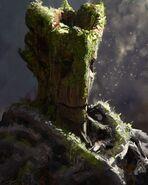 GotG Concept Art Groot
